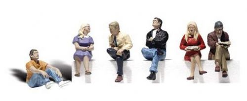 WA2759 Woodland Scenics O Scale People Sitting